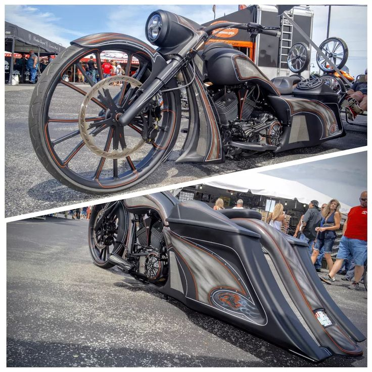 Photo: Join this collection and see all the Big Wheel Bagger Motorcycles.  #BigWheelBagger #MotorcycleEvolution  #Bagger #MyrtleBeach #HarleyDavidson #Victory #Indian #Motorcycle