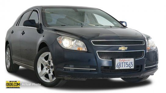 Sedan, 2010 Chevrolet Malibu LT with 4 Door in San Jose, CA (95136)