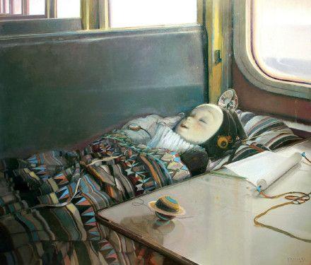 青年油画家李超雄(Arx Lee 1978年生于广东中山)的油画作品。
