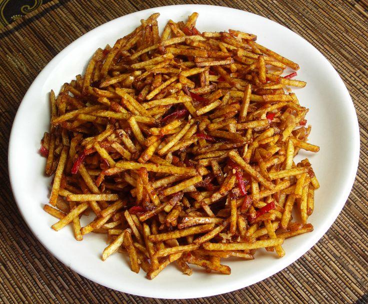 Sambal goreng kentang kering - Kokkie Slomo