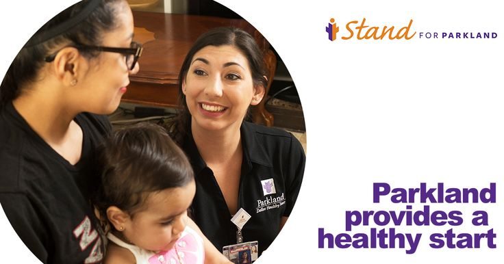 The Dallas Healthy Start program offered by Parkland Hospital provides the tools needed to nurture and develop our future of our community — our children. Help us keep our children healthy by giving today: www.IStandforParkland.org/Give-Health.
