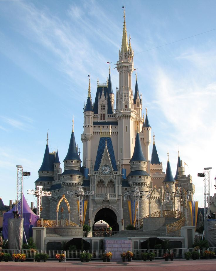 Disney Cinderella Castle- one day I will be here and on that day I am going to stand in front of that castle and just take it all in!