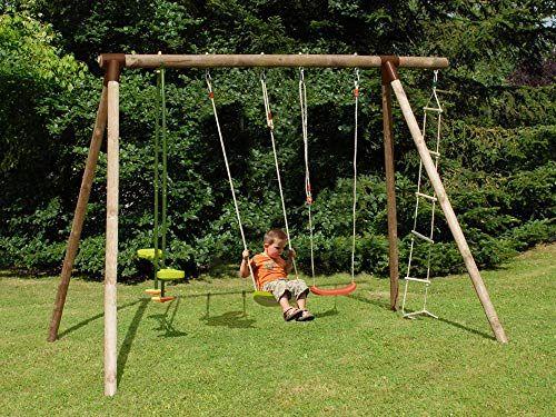 Soulet Portique Bois Hibiscus Portique Bois Balancoire Enfant