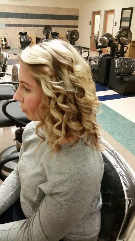 Marcel Curling Iron Hairstyle
