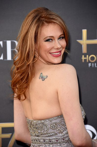 Maitland Ward attends the 18th Annual Hollywood Film Awards at The Palladium on November 14, 2014 in Hollywood, California