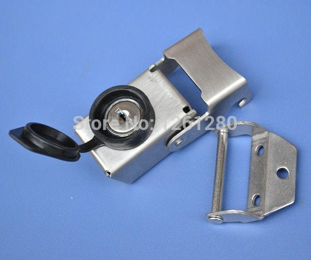 Cylinder Gas Zinc Alloy Chrome Finished Cam Lock with Triangle Key Keyed Tool