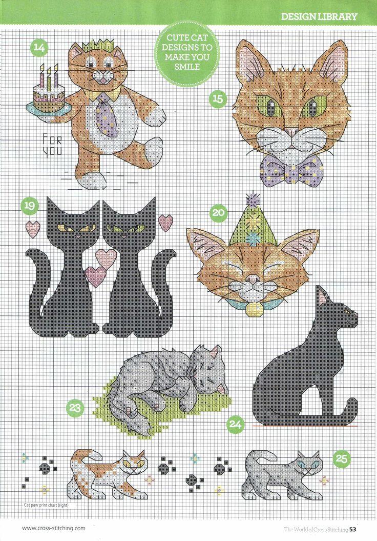 53.jpg çarpı işi Pinterest Simple, D and Cats