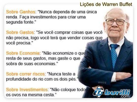 Lições de Warren Buffet: Um dos homens mais RICO do MUNDO!  #warrenbuffett #warrenbuffettquotes #kurttasche