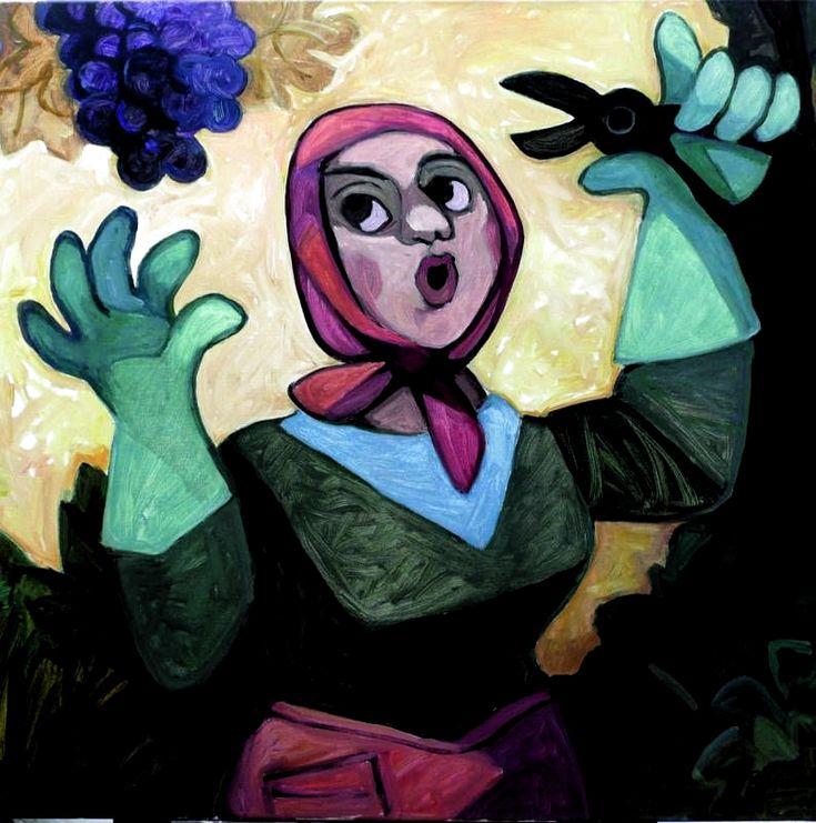 Vivi Vendimia Con Estas Pinceladas De Identidad Mendocina Mundo Club House Los Andes Diario In 2020 Art Disney Characters Painting