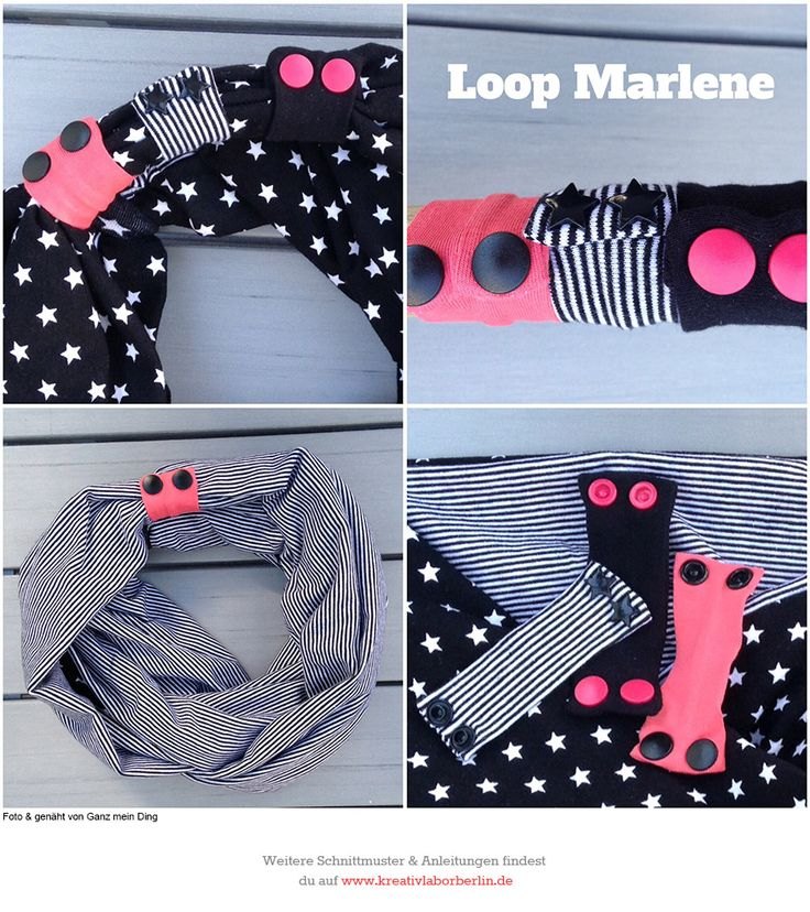 103 best Nähen: Schal und Loop images on Pinterest | Scarfs, Sewing ...