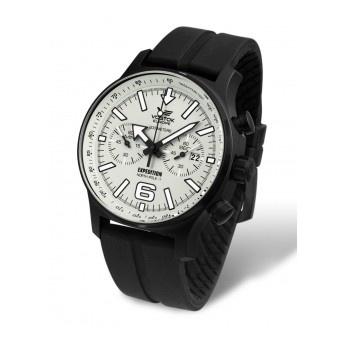 Relojes Hombre: Reloj de Caballero marca Vostok de 47mm, con movimiento Miyota Cronógrafo. Con función de fecha ¡Para saber siempre en que día vivimos!  http://www.tutunca.es/reloj-para-hombre-vostok-crono-north-pole-gel-negro