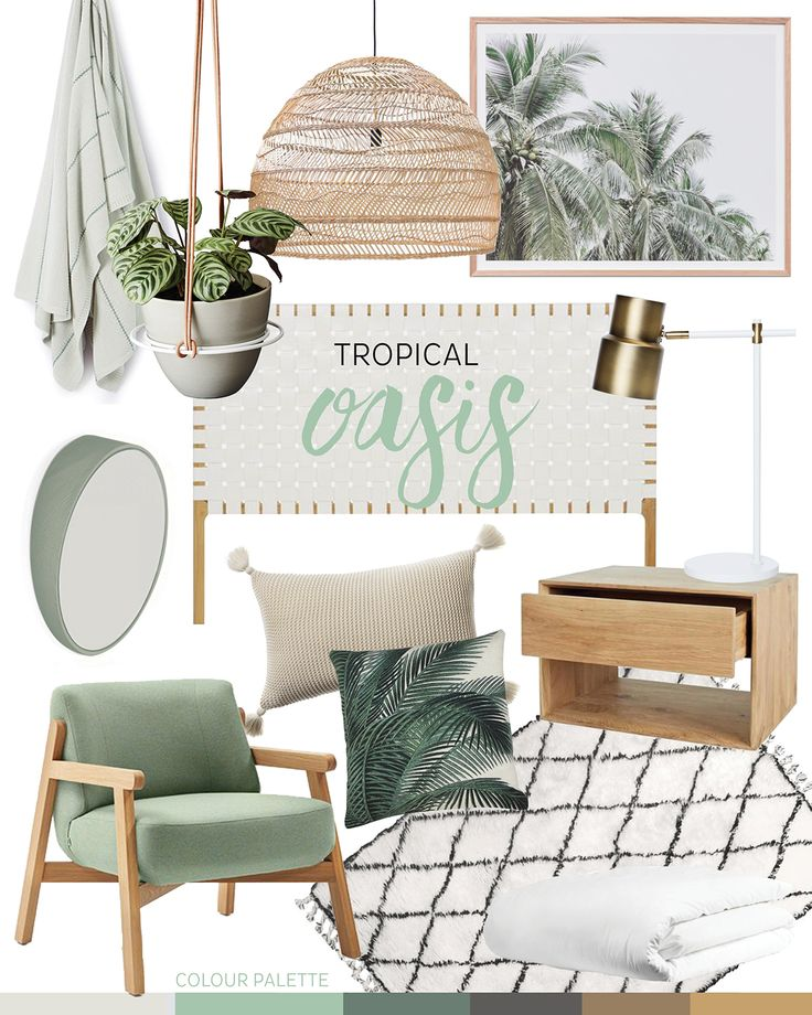 trend: tropical oasis