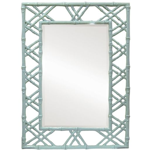 Charming Bungalow 5 Claire Wall Mirror (Light Blue)