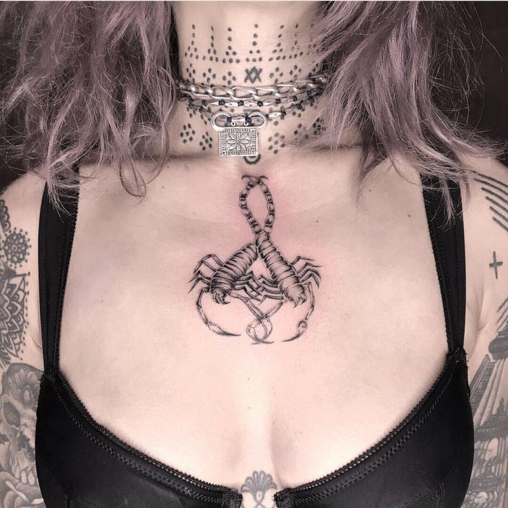 Scorpio Tattoos That Celebrate The Fiercely Loyal