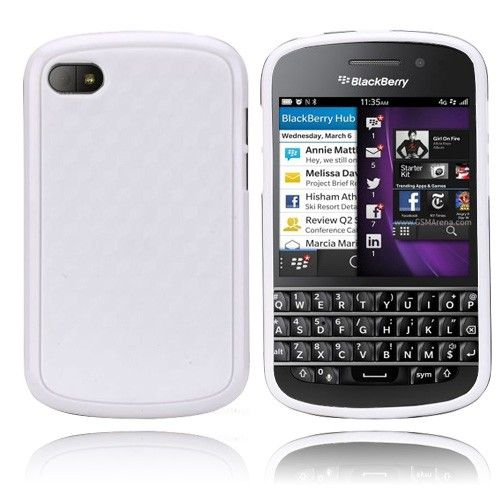 EdgeWhite (Hvit) BlackBerry Q10 Deksel