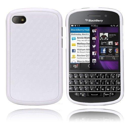 EdgeWhite (Hvit) BlackBerry Q10 Deksel