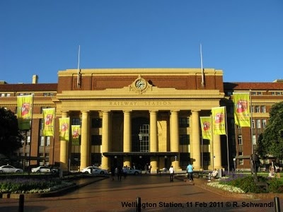 Wellington Railway Station, Wellington, New Zealand