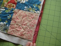 Quick Quilt Binding - Quilting In The Rain