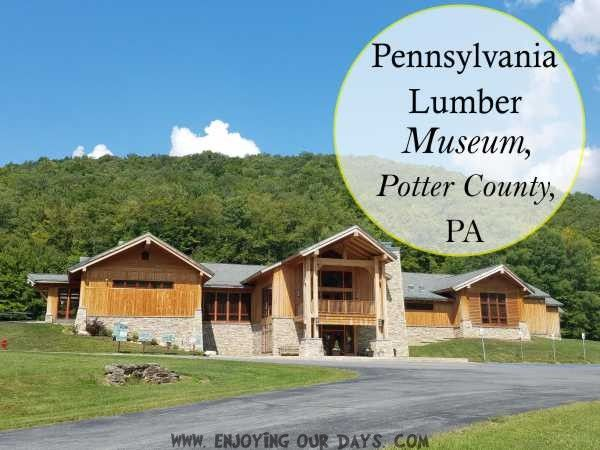 As a family who loves learning, we're always giddy about interactive museums, and the Pennsylvania Lumber Museum quickly became one of our new favorites.