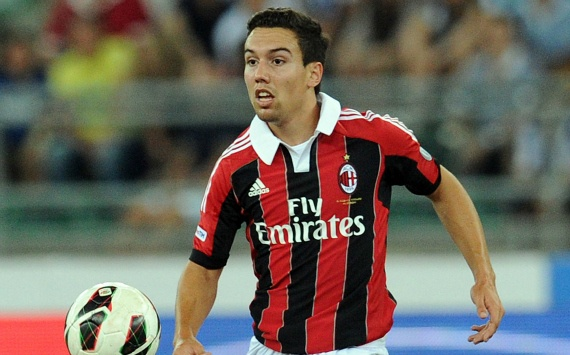 Adrià Carmona Pérez ( Igualada , 8 February 1992 ) is a Spanish footballer . He plays as a winger for AC Milan .    In May 2008 Carmona belonged to the Spanish selection to the Under-17 European Championship in Turkey won. In October 2009, he was with the Spanish team third in the Under-17 World Cup .
