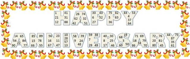 A fun tambola game in which participants have to match number from their tambola tickets in the given tambola sheet.