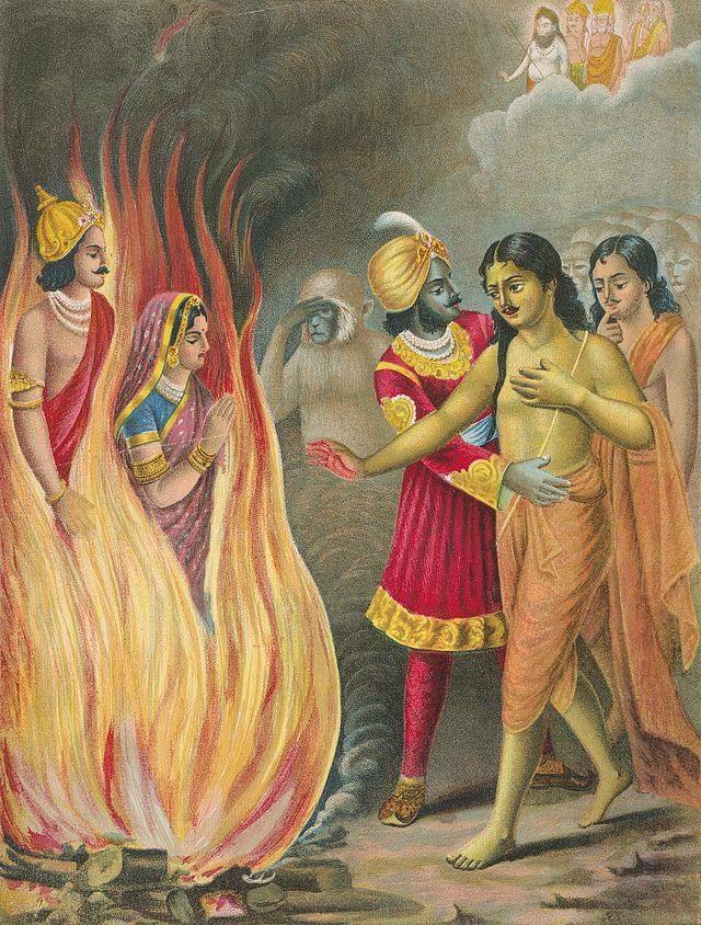 Epics of India: Week 3 Storytelling: Sita's Trial