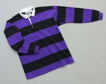 24 best men 39 s hoop stripe rugby images on pinterest for Pink and purple striped rugby shirt