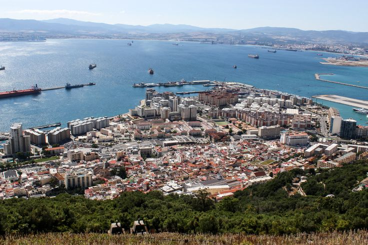 Upper Rock Nature Reserve, Straits of Gibraltar,Gibraltar Bay,Mediterranean, Gibraltar,British Overseas Territory,Algeciras, Spain, Europe | www.DoLessGetMoreDone.com |