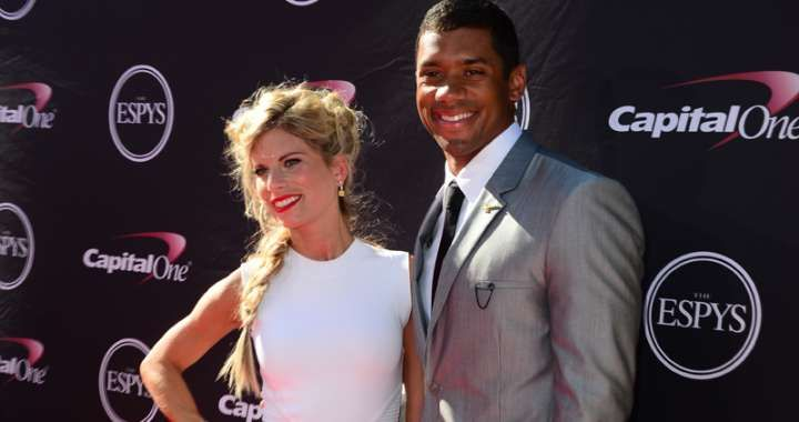 Seattle Seahawks QB Russell Wilson announced that he has filed for divorce from his wife, Ashton.