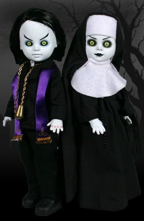 Sinister Minister and Bad Habit Living Dead Dolls