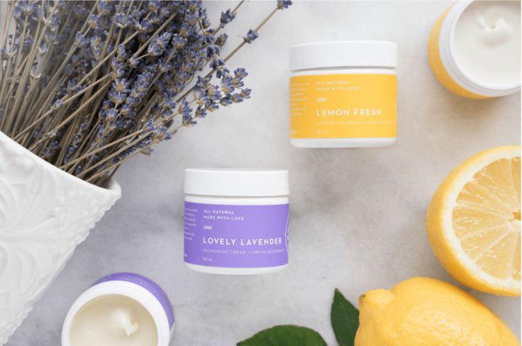 Natural #NonToxic Deodorant Cream