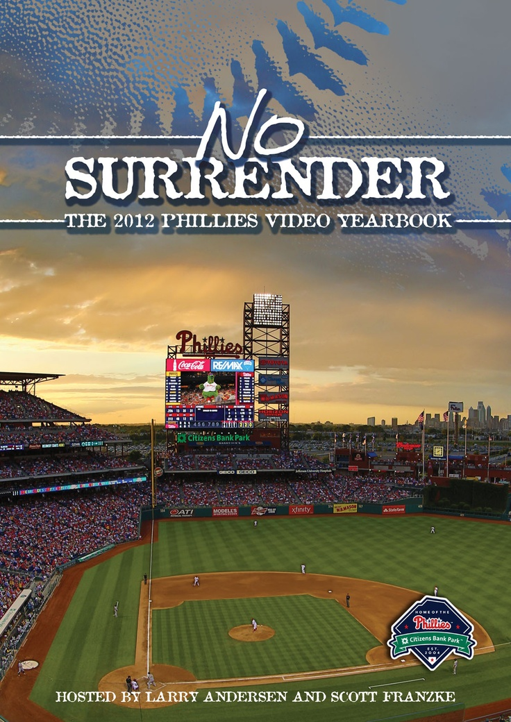 Story of the 2012 Phillies. Video yearbook is on sale now!