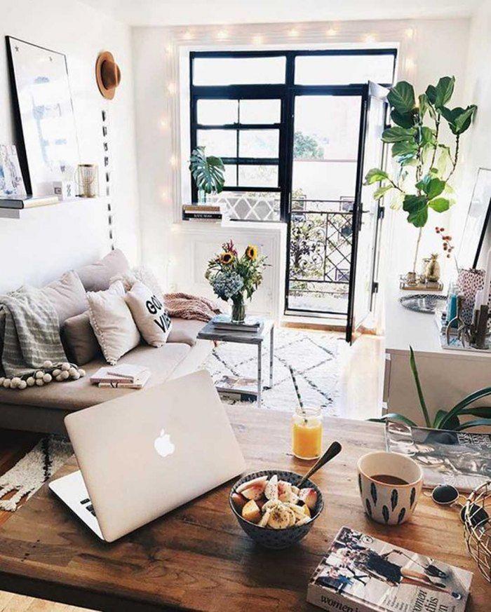 30 id es d co pour am nager un petit espace d coration et habitat pinterest salons. Black Bedroom Furniture Sets. Home Design Ideas
