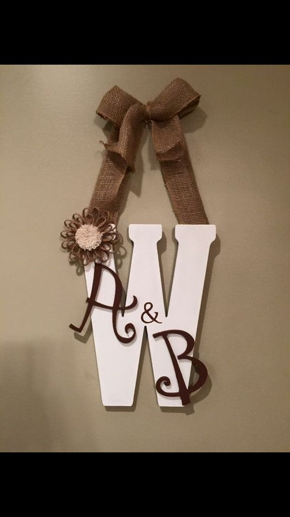 25 best ideas about letter door hangers on pinterest for Wooden letters for crafts