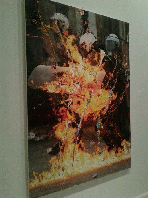 Obra de Marc Quinn en Cac Málaga. Arte