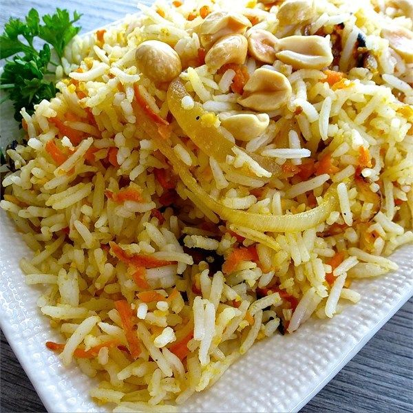 """Carrot Rice I """"What a wonderful change from plain rice! Tasted even better the second day!"""""""