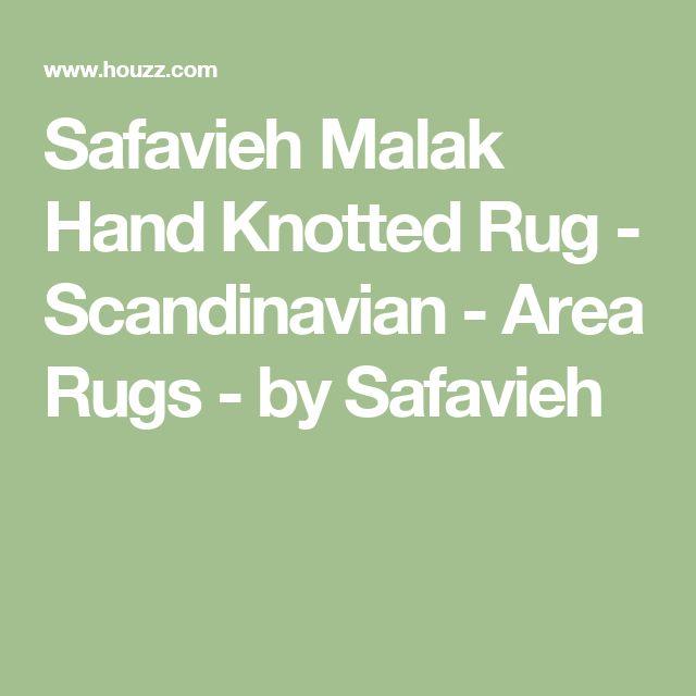 Safavieh Malak Hand Knotted Rug - Scandinavian - Area Rugs - by Safavieh