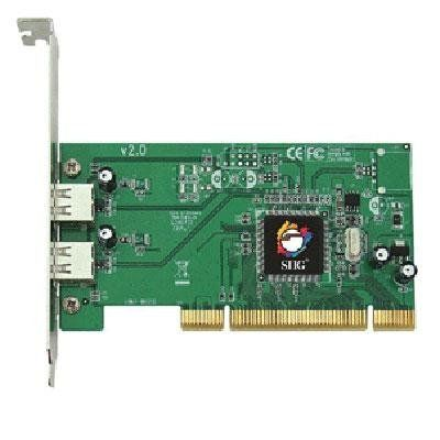2-port (external) by SIIG. $20.09. 2-port (external)USB 2.0 Dual Port PCI RoHS compliant***This item is expected to deliver in 4-10 business days. Tracking information is usually sent within 3-5 business days from the date of the purchase. This item does not ship to Alaska or Hawaii. The item also does not ship to P.O. boxes or APOs.***