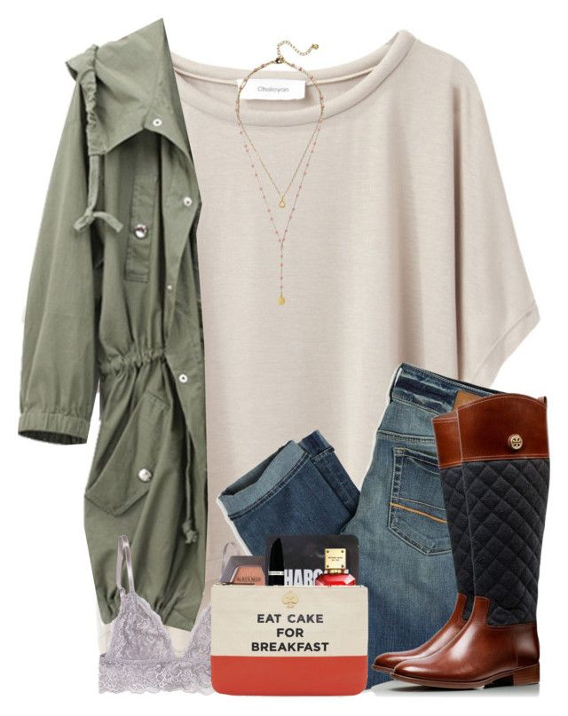 """Your smile is my favorite."" by amberfmillard-1 ❤ liked on Polyvore featuring Grey Line By Hussein Chalayan, American Eagle Outfitters, BaubleBar, Michael Kors, Max Factor, ComeForBreakfast and Tory Burch"