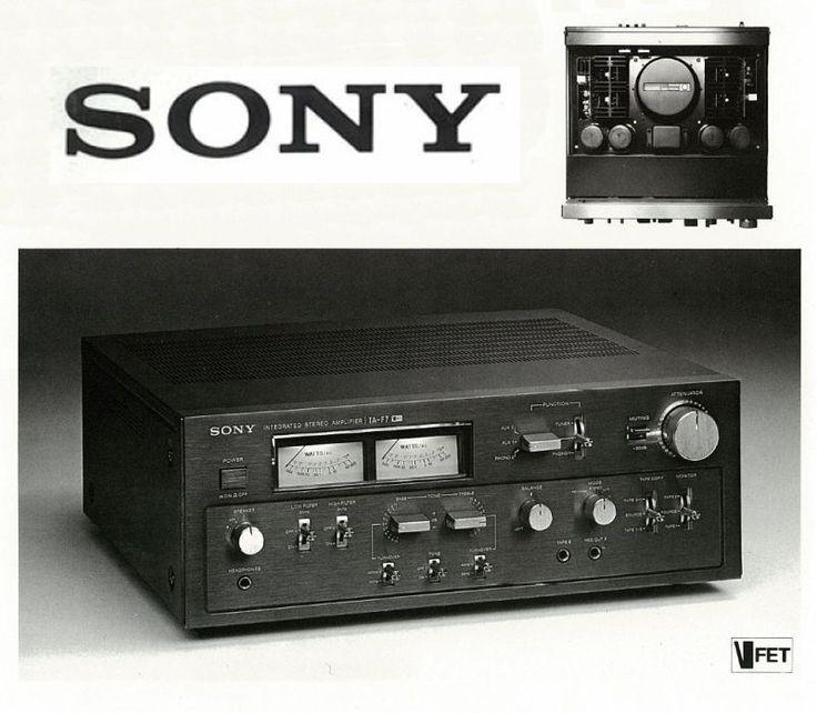V-FET Power SONY TA-F7B 1977