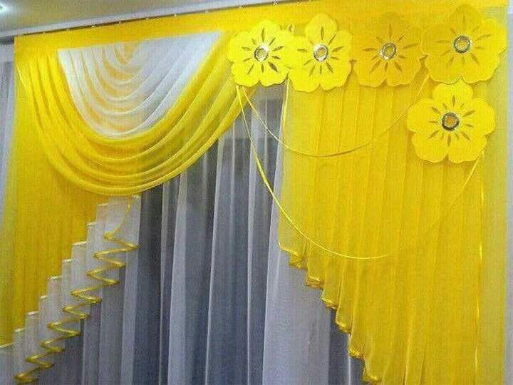 sweet contemporary curtain ideas. Contemporary Yellow Curtain Design With Florals Render 8 best Home Sweet images on Pinterest  Candy Decorating ideas
