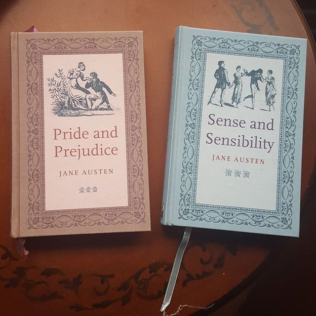 Do you love #janeausten? Get our Jane Austen pack! It features #senseandsensibility and #prideandprejudice in beautiful hardcover editions! Only $12 CAD for both books!  And use code GRANDO to save 10%! Visit us at http://www.theclearlyilliteratebookshop.tictail.com #booksale #bookhaul