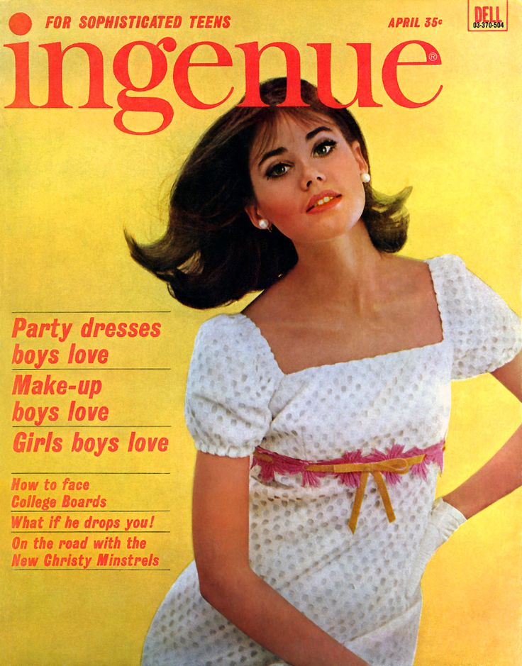 Colleen Corby (Ingenue Magazine Cover - 1965)