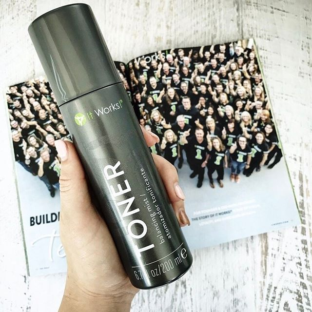 Start your morning with a mist of Toner to refresh, restore, and rebalance your skin so you can put your best face forward and GO #BlitzWrapRepeat!