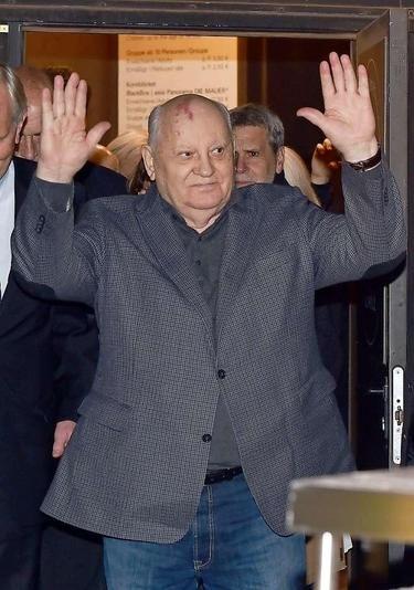 Michail Gorbatchev, Nov. 2014 in Berlin