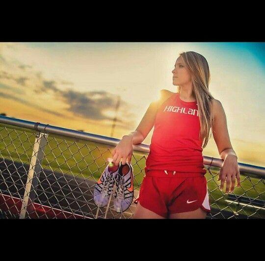 Track senior picture