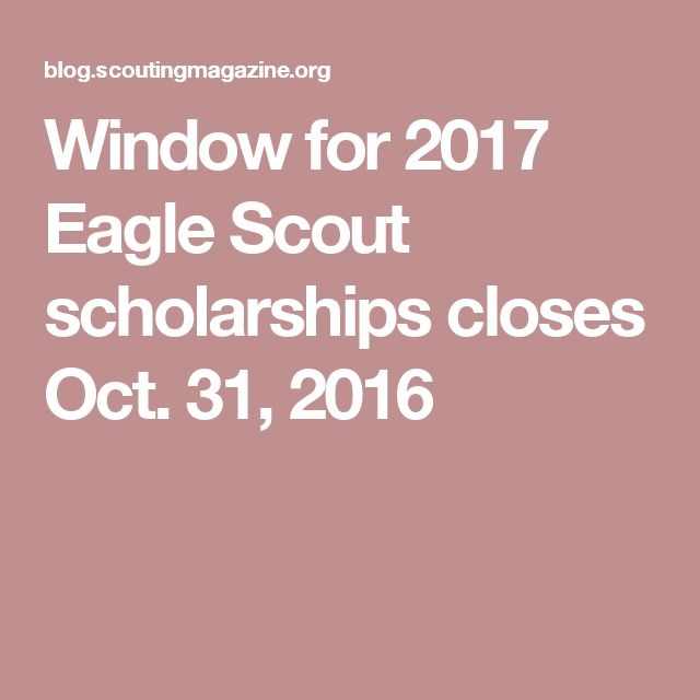 boy scout scholarship essay Other scholarships for eagle scouts  click to start or continue  application in the current scholarship  three types of eagle scout scholarships.