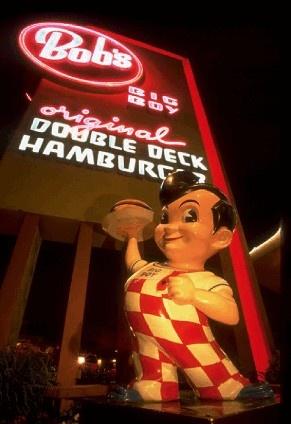 Bob's Big Boy - great burgers. In the San Fernando Valley in California