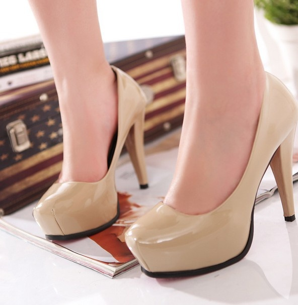 High Platform Solid Color PU
