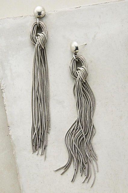 Rabo Fringe Earrings - anthropologie.com